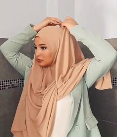 Dress Muslim Modern, Muslim Wedding Dresses, Muslim Dress, Hijab Dress, Dress Wedding, Hijab Fashion Casual, Hijab Fashion Summer, Muslim Fashion, Hijab Style Tutorial