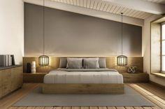 Schlafzimmer renovieren warme Farben