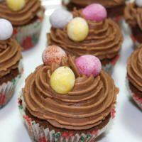 Påsk-cupcakes!