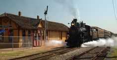 Grapevine Vintage Railroad - Grapevine to Stockyards and back.