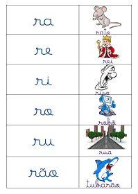 Meus alunos sentem muita dificuldade em relacionar o alfabeto cursivo como a letra de mão e o alfabeto de máquina como o que aparece no comp...