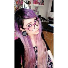 Holii, gracias por seguir mis trabajos, les prometo dar siempre lo mejor 🐯!💖🙌 (Ya tenía tanto sin tomarme una foto que seguro no sabían de qué cambie mi color de cabello a lavanda y no he retocado mi raiz xD, aunque regresare al rosa obvis🌸🌸🌸) #carademaldad #losamochicos #sonlosmejores #followyourdreams #lavenderhair #girlswithplugs #kawaiiasfuck