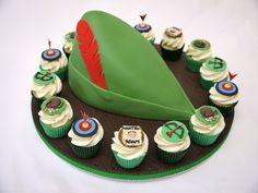 Robin Hood cake! Robin Hood is one of my all-time fav legends.