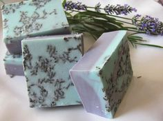 Lavender and Rose Soap by cocoandlolabathbody on Etsy