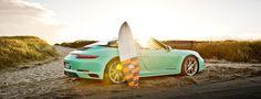 Porsche 911 Turbo 4S targa