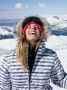 Torah Bright Australian snowboarder, at age 15 she finished at the 2006 Winter Olympics in Torino, Italy, married to Jake Welch with 2 children. X Games, Roxy Ski Jackets, Women's Jackets, Winter Wear, Winter Hats, Winter Fun, Winter Time, Snowboarding, Skiing