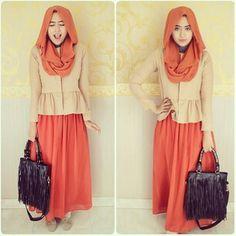 baju muslim SELIA SET (skirt+blouse+pasmina) bahan spandek,  harga 90rb www.ramailancar.com www.facebook.com/tokobajurajutmurah 0896 5491 5119