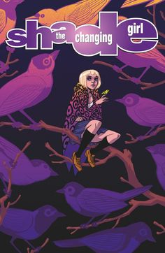 Resultado de imagem para shade the changing girl dc young animal Dc Comics, Free Comics, Comic Book Covers, Comic Books, Vertigo Comics, Young Animal, New Poster, Comic Artist, Art Girl