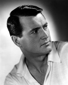 Rock Hudson, de nombre real Roy Harold Scherer, Jr. (Winnetka, Illinois, 17 de noviembre de 1925 - Beverly Hills, California, 2 de octubre de 1985) fue un actor de cine estadounidense famoso por sus papeles de galán del cine clásico moderno estadounidense. Hudson es también conocido por haber sido el primer caso publicitado de sida en alguien célebre en los Estados Unidos, en los inicios de la pandemia, a principios de la década de los 80.
