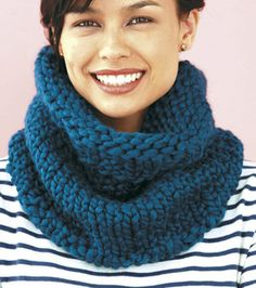 Quick gift!:  Big Cowl : Crocheting Projects :  Shop | Joann.com
