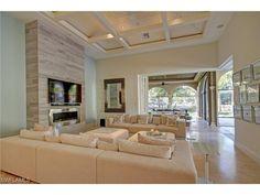 2562 Escada Ct, Naples, Fl 34109 | Fresh coastal living room in the Escada…