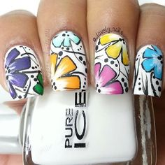 Love or not? Credit to @_lovely_nails_ (http://ift.tt/1qiQNQR)