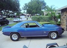 1969 CHEVROLET CAMARO SS Lot 342.1  #cars #coches #carros