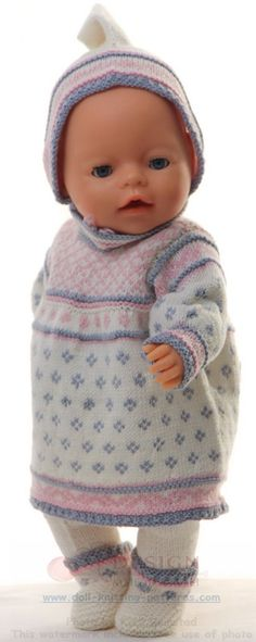 Welcome to Maalfrid Gausel doll knitting patterns store - the most lovely knitting patterns for dolls Knitting Dolls Clothes, Baby Doll Clothes, Knitted Dolls, Doll Clothes Patterns, Clothing Patterns, Baby Dolls, Baby Barn, Bear Doll, Clothes Crafts