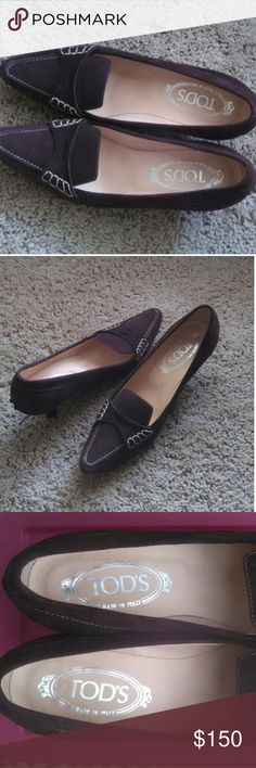 Tod's shoes Very nice Tod's shoes ,original made in Italy,are welcome, thank you for looking:)) TOD'S Shoes Heels
