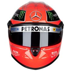 Official Formula 1 - Mercedes AMG Petronas Formula One Team 2012 Michael Schumacher Schuberth Replica Helmet 1:2 Scale