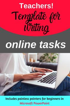 Write a Resource - Task Template Create Powerpoint Template, How To Use Powerpoint, Powerpoint Tips, Microsoft Powerpoint, My Philosophy, Blended Learning, Learning Resources, My Teacher, Classroom Management