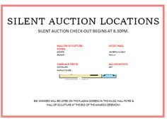 Silent Auction Bid Sheet With Buy It Now  Silent Auction Bid