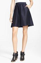 A.P.C. 'Jupe Volante' Silk Skirt