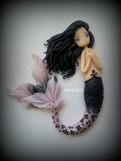 chibi mermaid doll. SO AWESOME!!!