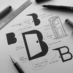 This post will be for designers and for those who want to master this skill for logo design and branding Graphisches Design, Design Logo, Logo Inspiration, Logo Branding, Arquitectura Logo, Logo Sketches, Great Logos, Logo Concept, Grafik Design
