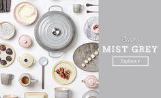 Mist grey Le Creuset