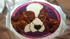 Windows 2 the Soul by on Etsy Stained Glass Window Clings, Stained Glass Windows, Lilly Flower, Custom Stained Glass, Cocker Spaniel Dog, Sliding Glass Door, 6 Years, My Photos, Etsy Seller