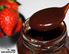 Caramelo de chocolate y calvados