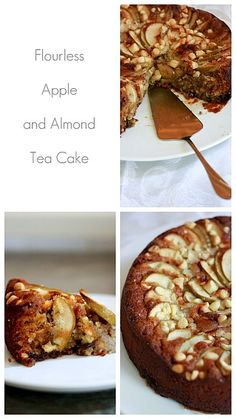 Flourless Apple and Almond Tea Cake...