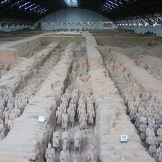 Terracotta Warriors in Xian it's amazing