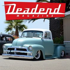 """Nice truck at the #BeatnikBlowout in 2011. #DeadendMagazine"""