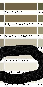 Bm 2143 50 Old Prairie Somewhat Boring I Prefer Soft Fern Green House Colors Prairie