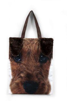 Τσάντα Foxy Dog Lovers, Reusable Tote Bags, Puppies, Dogs, Cubs, Pet Dogs, Doggies, Pup, Newborn Puppies