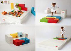 designskin - baby safety mat | kid mat | baby sofa | bumper mat ... - Chaiselongue Design Moon Lina Moebel