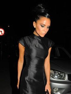 Victoria Beckam. Obsessed with the dress.