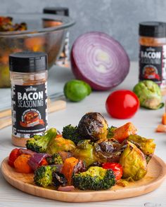 Deliciou's Bacon Seasoning makes anything taste like bacon. As a natural, vegan and healthy seasoning option you can flavor your meal with confidence. With our bacon salt you can turn an average meal into an unbelievable deliciousness. Soup Recipes, Vegetarian Recipes, Dinner Recipes, Cooking Recipes, Healthy Recipes, Healthy Soup, Healthy Chicken, Crockpot Recipes, Chicken Recipes