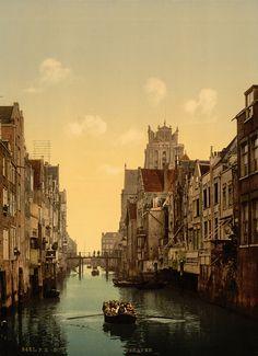 Wonderful Vintage Photochrom Prints of the Netherlands before 1900