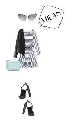 """""""Pack and Go: Milan"""" by mfardilha ❤ liked on Polyvore featuring Aquazzura, Vince Camuto, Jimmy Choo, Michael Kors, women's clothing, women, female, woman, misses and juniors"""