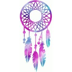 Silhouette Design Store: watercolor dream catcher
