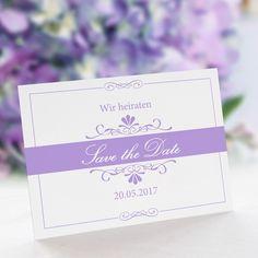 Save the Date Karte Hochzeit Bella: https://www.meine-hochzeitsdeko.de/save-the-date-karte-hochzeit-bella
