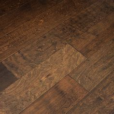Handscraped Forest Birch Lacquered Engineered Wood Flooring