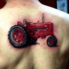 Tractor tattoo