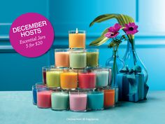 NEW PartyLite Essential Jar Candles