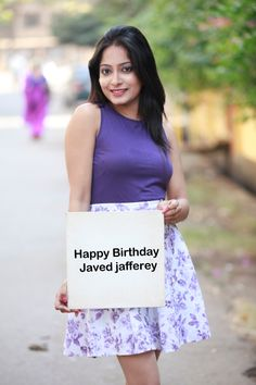 Happy Birthday Javed Jafferey.