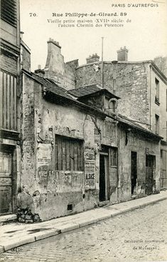 Image Paris 1900, Old Paris, Paris France, Old Pictures, Old Photos, Vintage Photos, Montmartre Paris, Paris Ville, I Love Paris