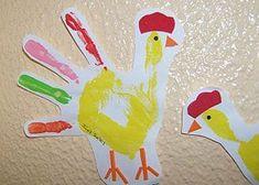 dactilopintura gallina