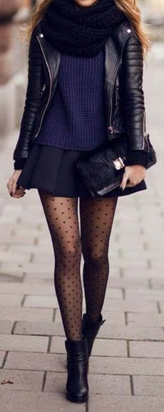 54 ideas for skirt outfits fall tights chic Winter Skirt Outfit, Casual Winter Outfits, Winter Dresses, Dress Winter, Preppy Winter, Winter Sport, Casual Fall, Skirts With Boots, Tights And Boots