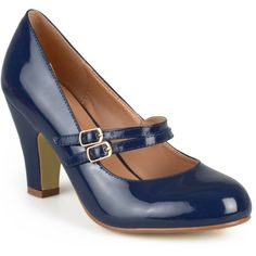 62b753aaa60aa Brinley Co Womens Mary Jane Patent Leather Pumps, Women's, Size: 6, Blue