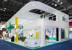 Image result for double decker exhibition stand designs