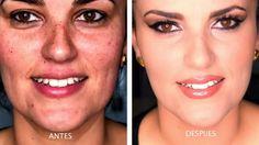 maquillaje de fiesta natural, tapa manchas e imperfecciones